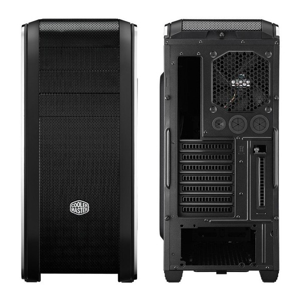 Cooler Master CM690 Front & Rear View