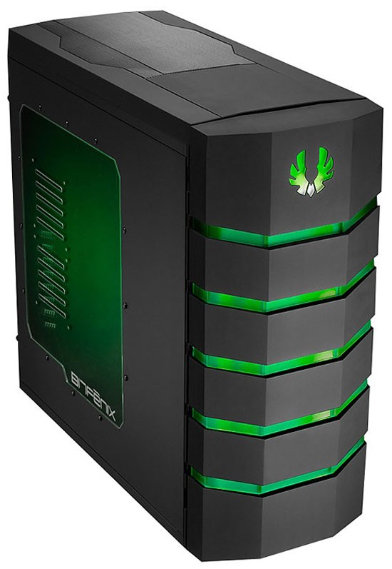 BitFenix Colossus Window Green LED Color