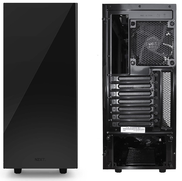 NZXT S340 Compact Size
