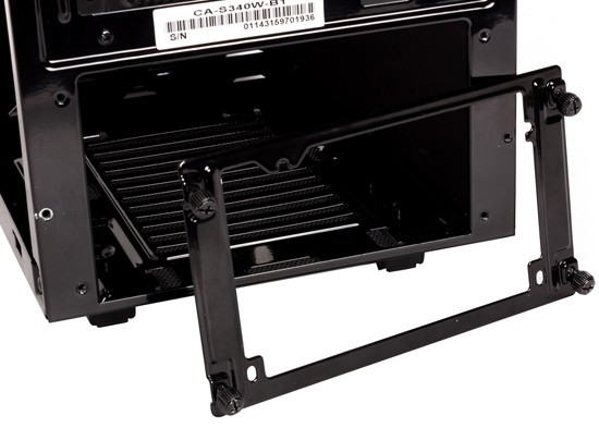 NZXT S340 PSU Compartment