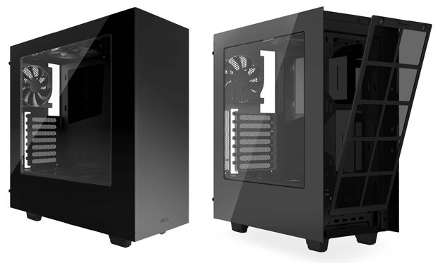 NZXT S340 - Steel Construction