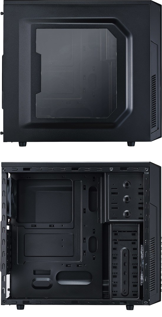 Cooler Master K282 Side View