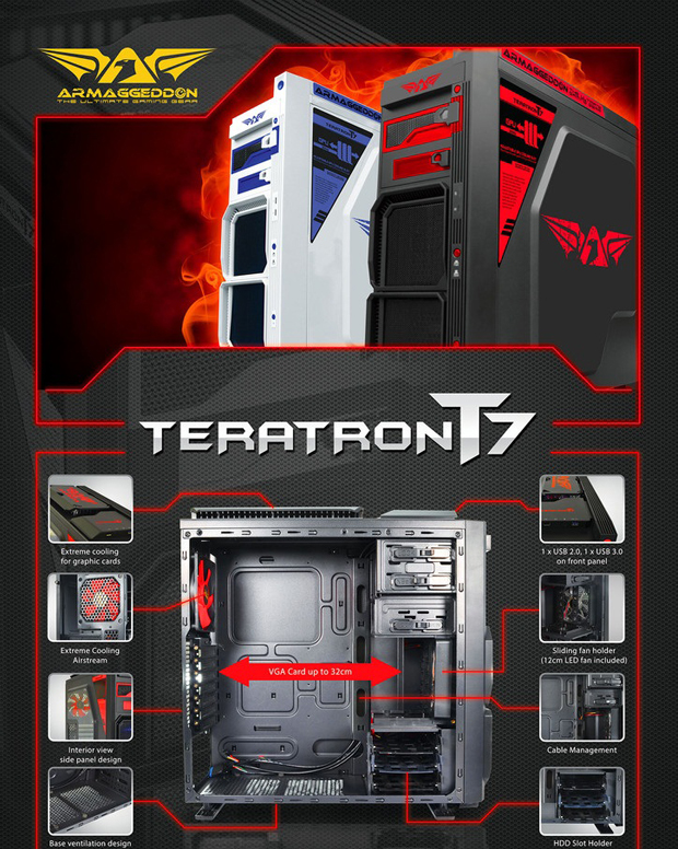 Armaggeddon Teratron T7 Overview