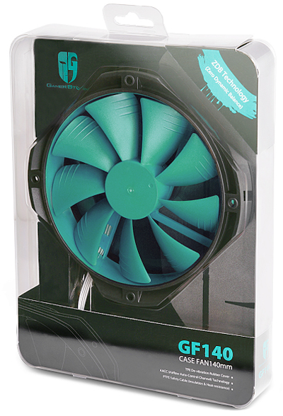 DEEPCOOL Gamer Storm GF140 Green Fan Case