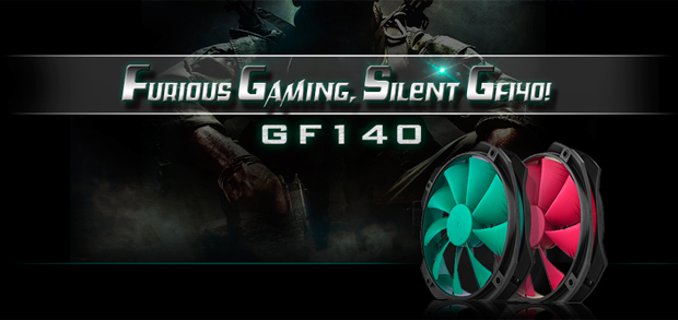 DEEPCOOL Gamer Storm GF140 Silent PC Case Fan