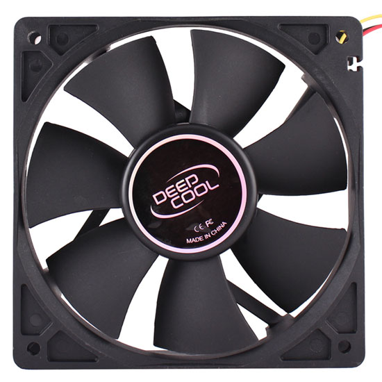 DEEPCOOL XFAN 120 Black Fan