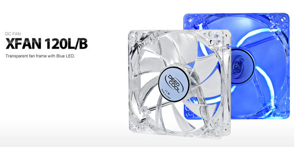 DEEPCOOL XFAN 120L/B PC Cooler