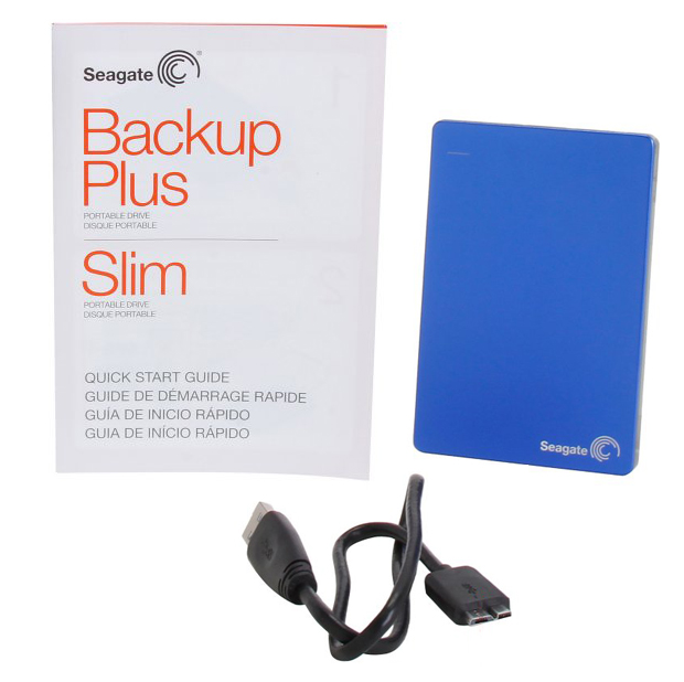 Seagate BackUp Plus Slim Package