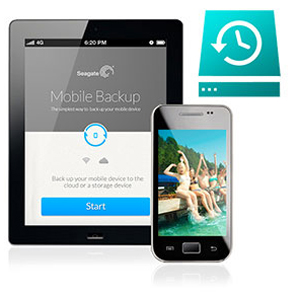 Seagate BackUp Plus to Back Up Mobile Devices