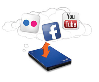 Seagate BackUp Plus for BackUp Your Social Networks