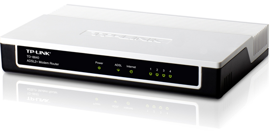 TP-Link TD 8840 Front View