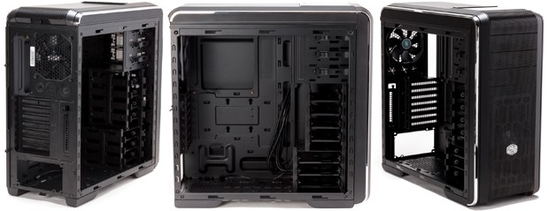Cooler Master CM690 III Left Side View Empty Case Condition