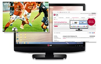 LG 24MT44 as Personal TV
