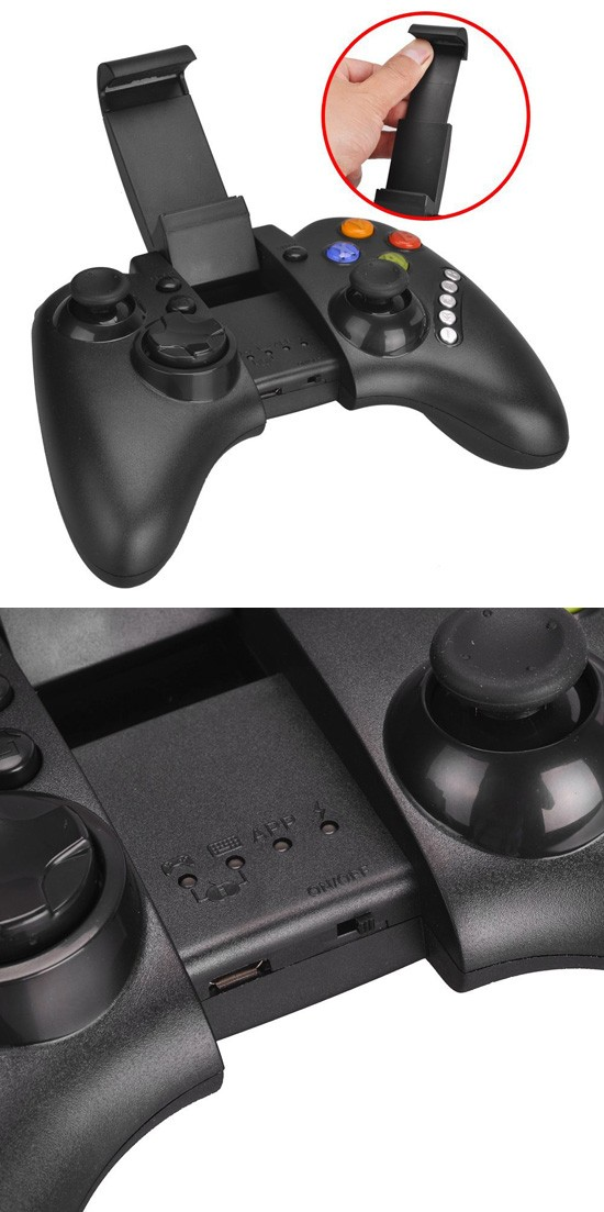iPEGA PG-9021 Bluetooth Controller Bottom view