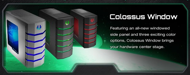 BitFenix Colossus Window Overview