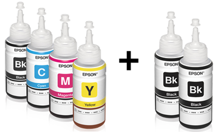 Epson L300 Extra Ink Bottle in 1 Bundled